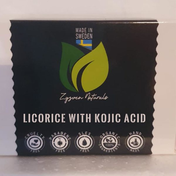 Licorice with kojic Acid